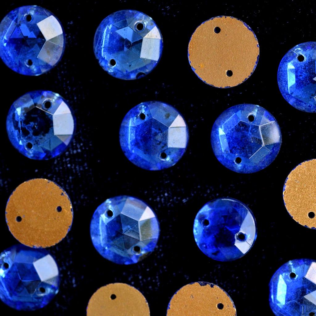 Stone Chato 12 mm Azulão 702858