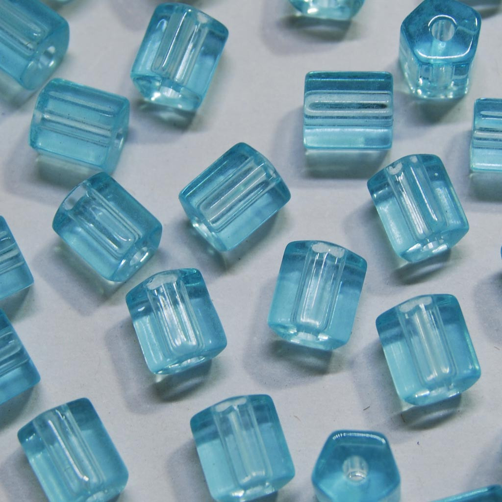 Atlas Transparente Vidro Azul 6x6 mm 708340