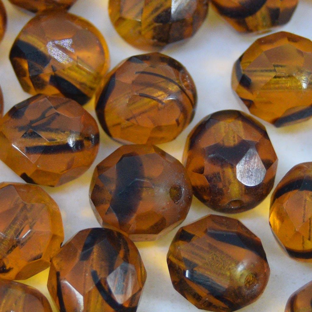 Cristal 8 mm Transparente Olho de Tigre 709949