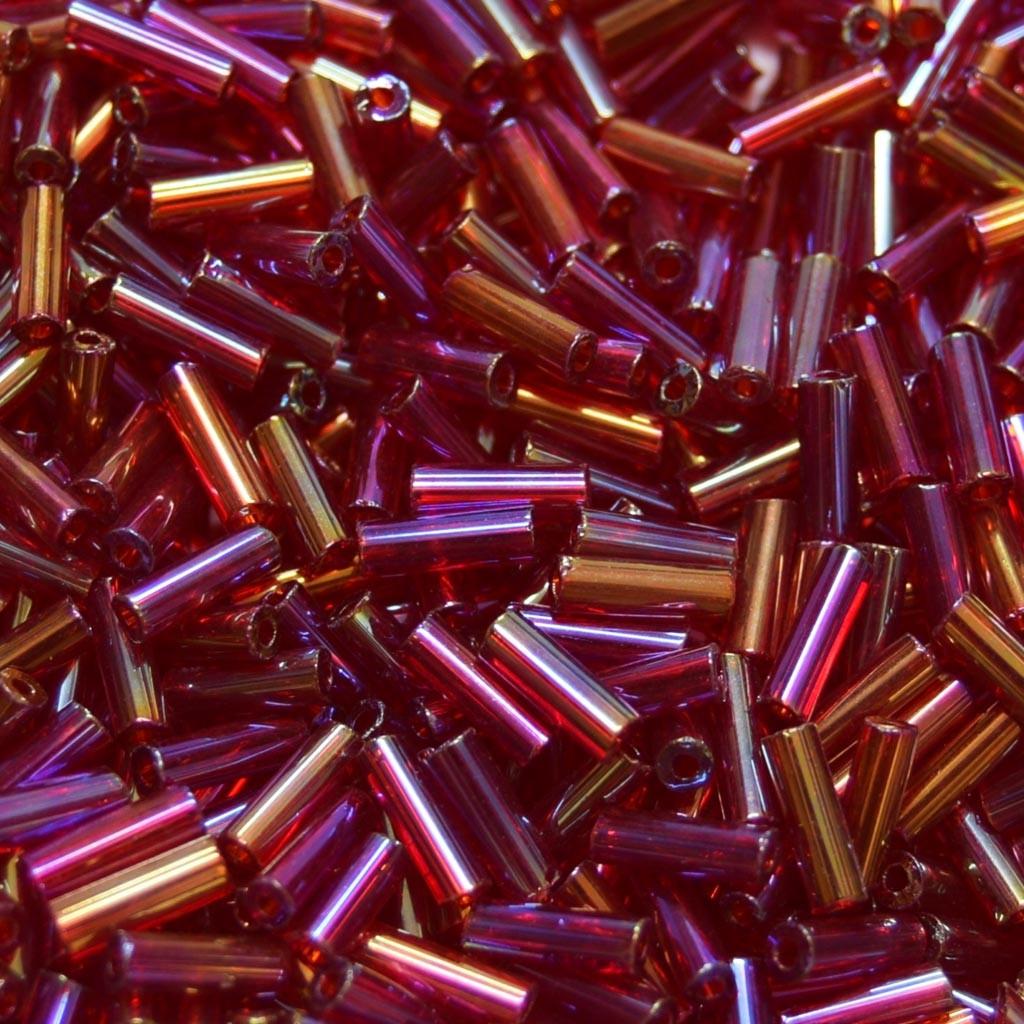 """Canutilho 3""""  Transparente Irizado Vermelho 710938"""