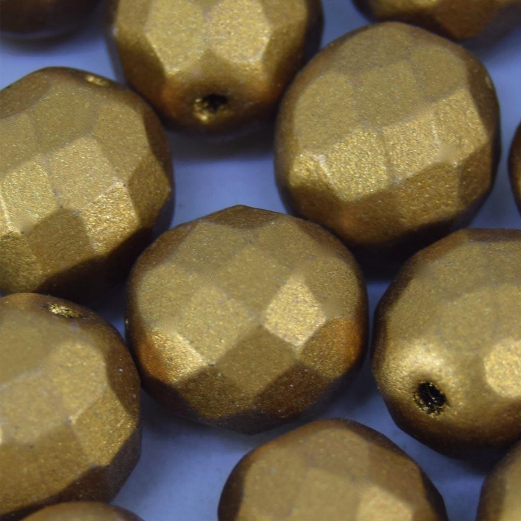 Cristal 10 mm Metalizado Pintado Ouro Escuro 712113