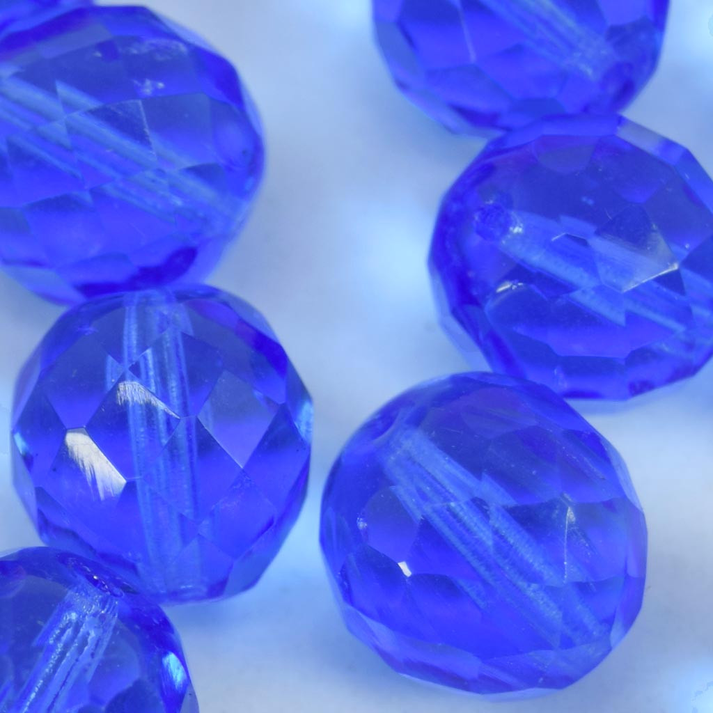 Cristal 16 mm Transparente Azul Anil 712131