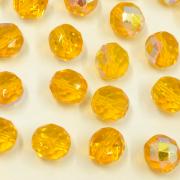 Cristal 10 mm Transparente Irizado Amarelo Limão 711792