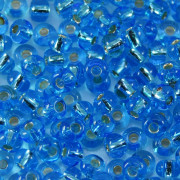 Miçanga 6/0 Espelhada Azul claro 708021