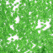 Vidrilho 2 x 9/0 Satin Verde Claro  708280