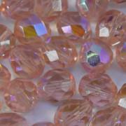 Cristal 8 mm Transparente Irizado Rosa 708476
