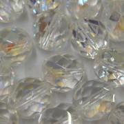 Cristal 14 mm Transparente Irizado Branco 711641