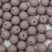 Conta de porcelana 8 mm Opaca Lilás 708575