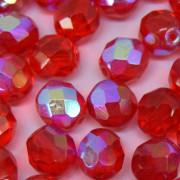 Cristal 8 mm Transparente Irizado Vermelho 708731