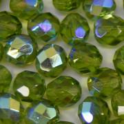 Cristal 8 mm Transparente Irizado Verde Oliva 709953