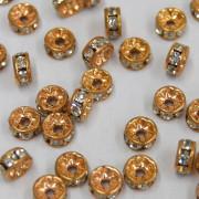 Rondela Strass  0,5 mm 1S Dourada  710416