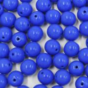 Conta de porcelana 8 mm Opaca Azulão 710558