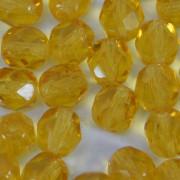 Cristal 6 mm Transparente Ouro Médio 710570