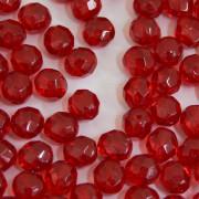 Cristal 8 mm Transparente Vermelho Especial - 300uni - 9008 - 710711