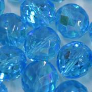 Cristal 14 mm Transparente Irizado Azul Claro 710820