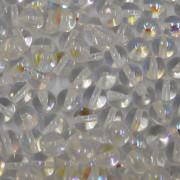 Conta de vidro Transparente Cristal Irizada 8 mm 711461