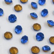 Strass Mc Chaton Azul Light Sapphire SS 16 = 3.80 mm 711167