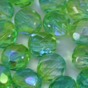 Cristal 8 mm Transparente Irizado Verde 711350