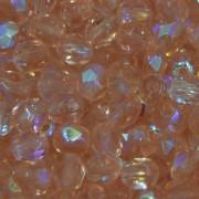 Cristal 5 mm Transparente Irizado Rosa 711437