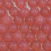 Conta de vidro Seda Rosa 8 mm 711480