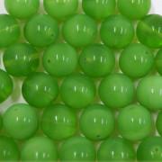 Conta de vidro Seda Verde 12 mm 711498