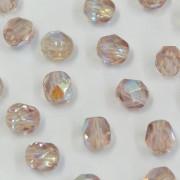Cristal 5 mm Transparente Irizado Lilás Claro 711591