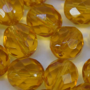 Cristal 12 mm Transparente Ouro 711613