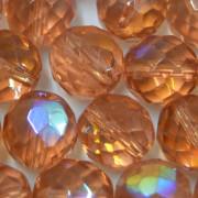 Cristal 12 mm Transparente Irizado Salmão 711626