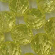 Cristal 14 mm Transparente Amarelo Limão 711633