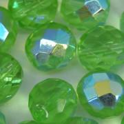 Cristal 10 mm Transparente Irizado Verde 711722