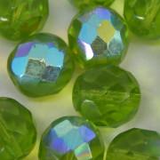 Cristal 10 mm Transparente Irizado Verde Oliva 711725