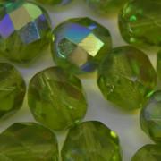 Cristal 12 mm Transparente Irizado Verde Oliva 711728