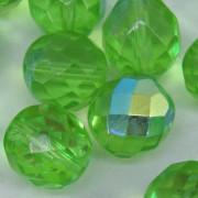 Cristal 12 mm Transparente Irizado Verde 711730