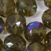 Cristal 14 mm Transparente Irizado Cinza 711802