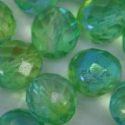 Cristal 10 mm Transparente Irizado Verde 711818