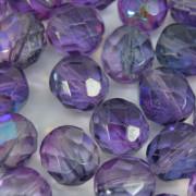 Cristal 8 mm Transparente Irizado Lilás 711820