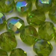 Cristal 8 mm Transparente Irizado Verde 712000