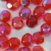 Cristal 4 mm Transparente Irizado Vermelho 712008