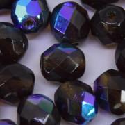 Cristal 8 mm Transparente Irizado Marrom 712044