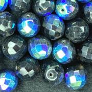 Cristal 14 mm Transparente Irizado Marrom 712055