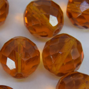 Cristal 18 mm Transparente Ouro  712126