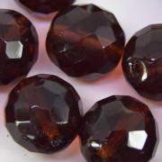 Cristal 18 mm Transparente Marrom 712127