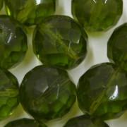 Cristal 16 mm Transparente Verde Oliva 712134