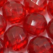 Cristal 16 mm Transparente Vermelho 712136