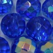 Cristal 16 mm Transparente Irizado Azul Anil 712139