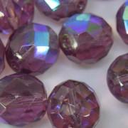 Cristal 10 mm Transparente Irizado Lilás 712143