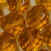 Cristal 16 mm Transparente Ouro Claro 712250