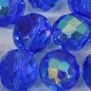 Cristal 16 mm Transparente Azul Anil Irizado 712251