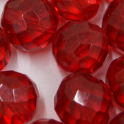 Cristal 16 mm Transparente Vermelho 712254