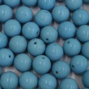 Conta de porcelana 10 mm Opaca Azul 712265